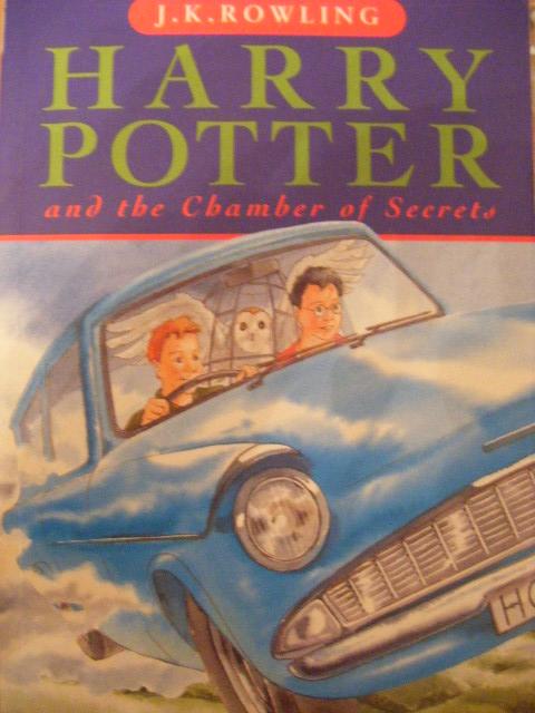 portada del libro Harry Potter y la cámara de los secretos