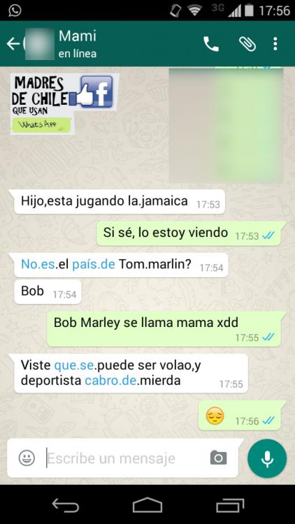 mamá que no conoce quién es bob marley