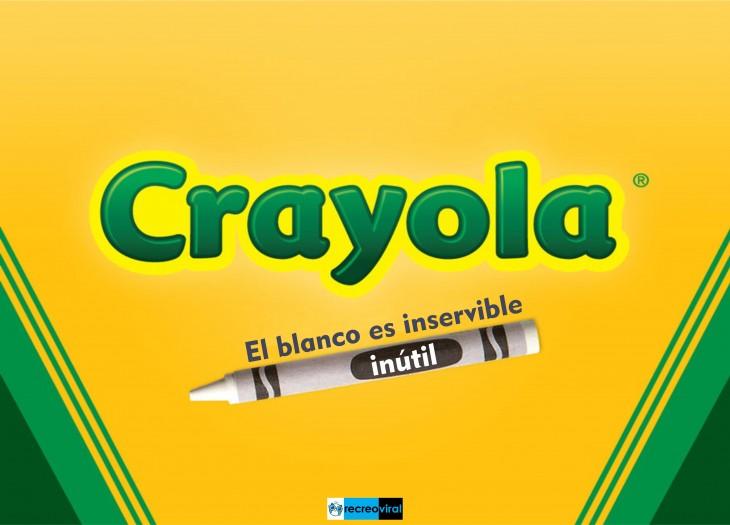 HONESTIDAD. CRAYOLA