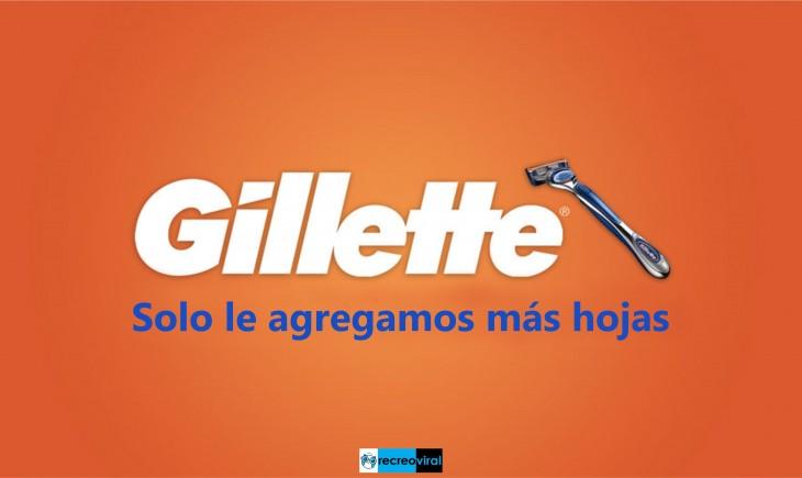 HONESTIDAD. GILLETTE