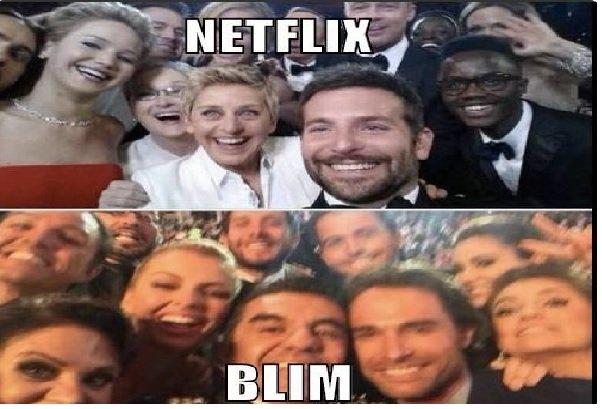 MEMES BLIM VS NETFLIX 1