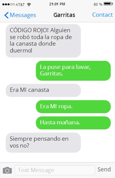 GATO PELEANDO POR LA CANASTA DE ROPA