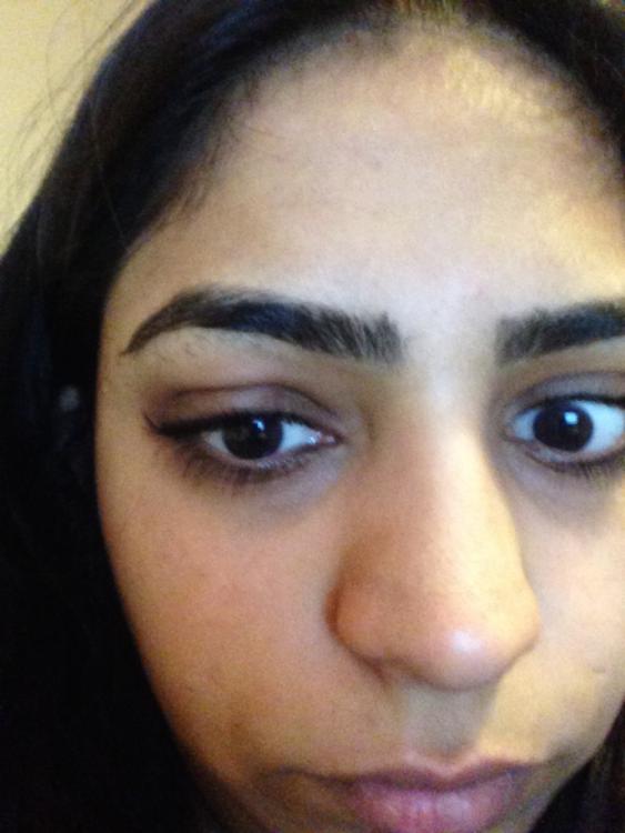 selfie de una chica sin maquillaje