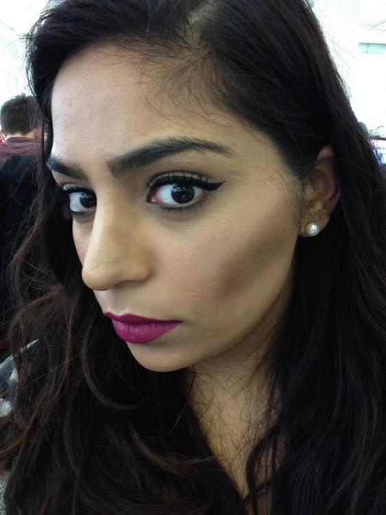 Maquillaje ideal de una chica en la vida real