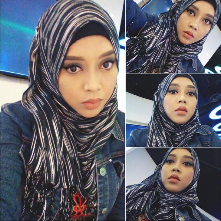 Saraswati, la joven maquillista de Malasia que se transforma en personajes de Disney con maquillaje y un hijab