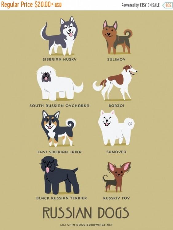 perros rusos