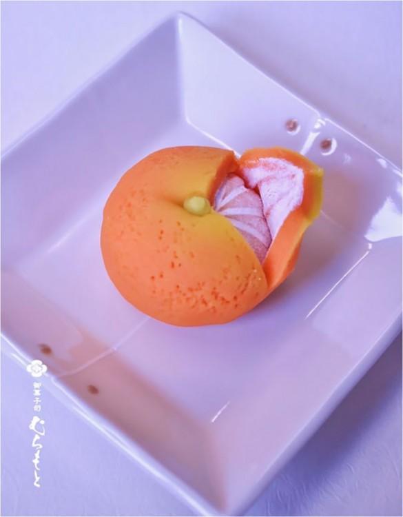mandarina de pastel