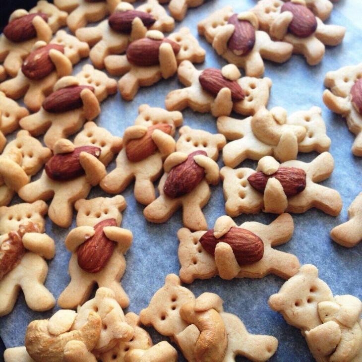 galletas con almendra