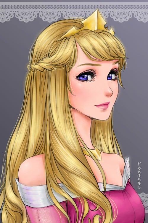 Aurora versión anime