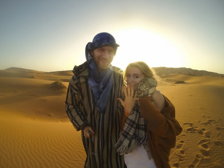 Pareja de Bloggers se compromete durante su viaje a más de 50 países