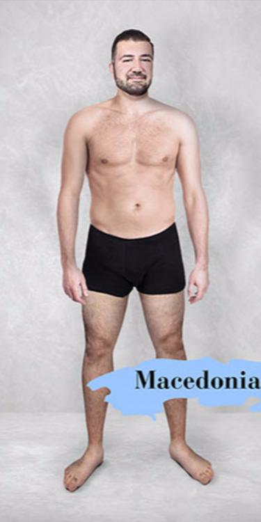 Photoshop del cuerpo masculino perfecto en Macedonia