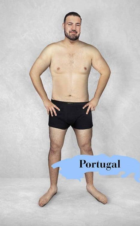 Photoshop del cuerpo masculino perfecto en Portugal