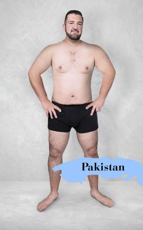 Cuerpo masculino perfecto según Pakistán