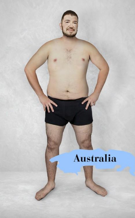 photoshop del cuerpo masculino perfecto en Australia