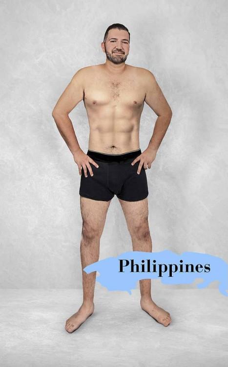Cuerpo masculino perfecto en Filipinas