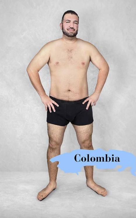 Estereotipo del cuerpo masculino perfecto en Colombia