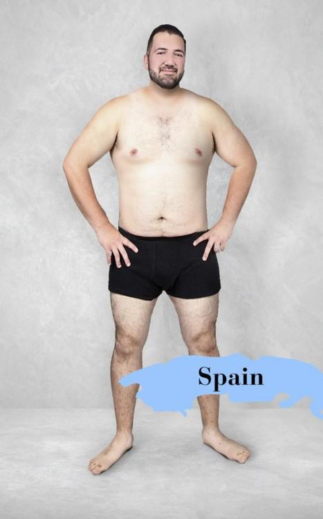 Cuerpo masculino perfecto en España
