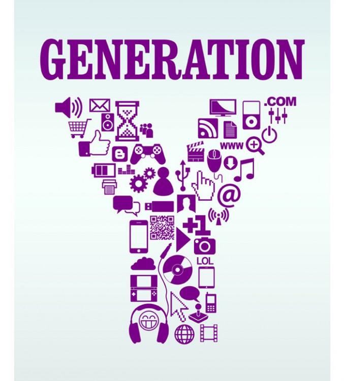 Logotipo Y creado con diferentes logotipos de tecnología