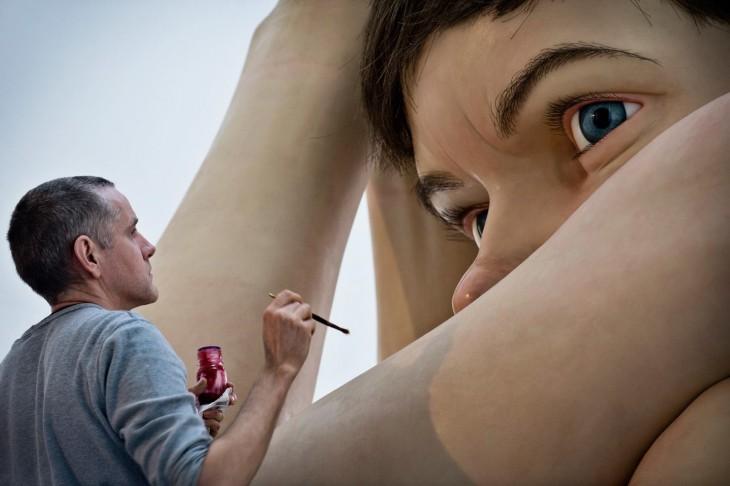 Artista plástico Ron Mueck