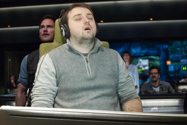 se quedó dormido y lo trolearon en Reddit con Jurassic World