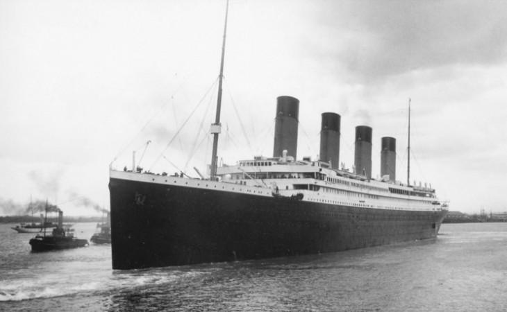 TITANIC. ABRIKL DE 1912. SOUTHAMPTON