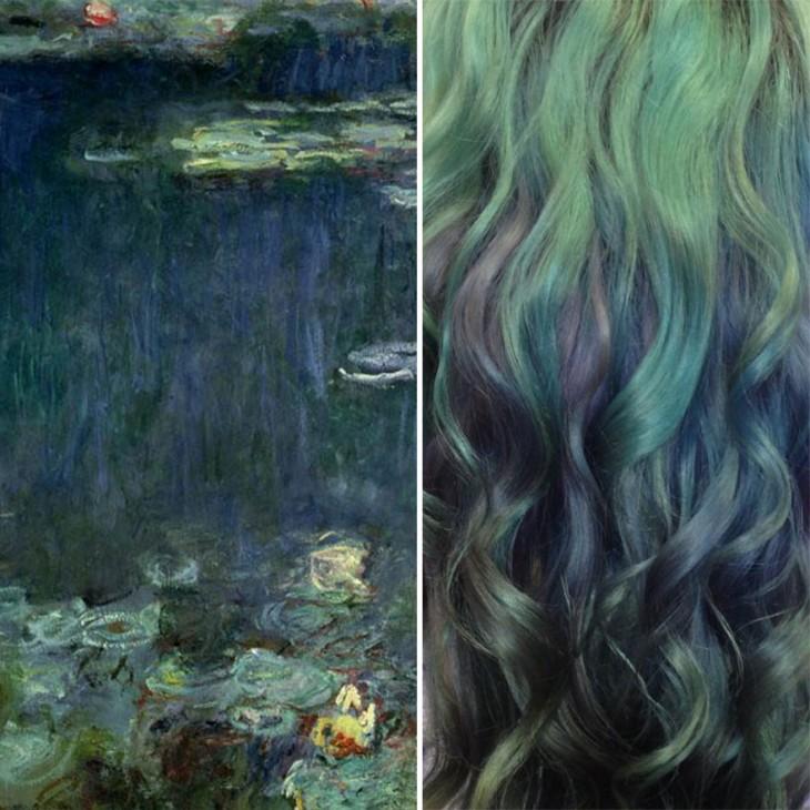 water lillies de Ursula goff