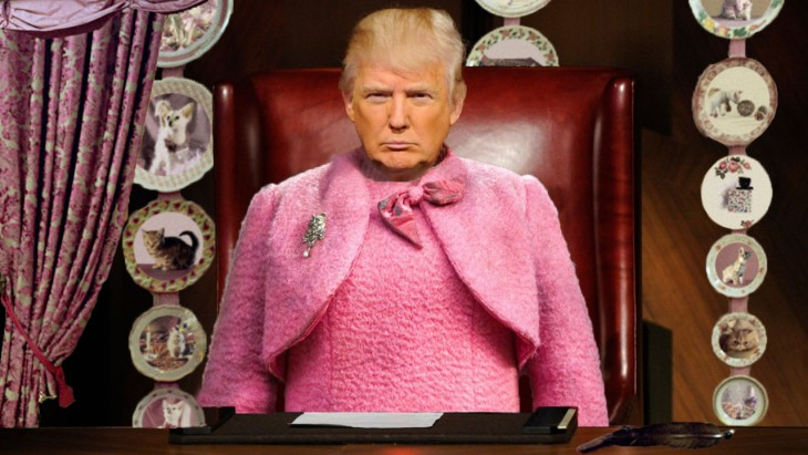 Donal Trump y Dolores Umbridge fusionados