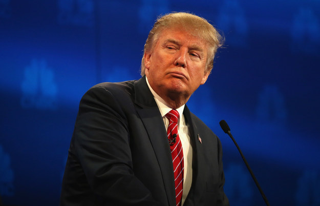 Candidato republicano a la presidencia de los Estados Unidos Donal Trump