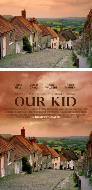 "poster falso de una película titulada ""Our Kid"""