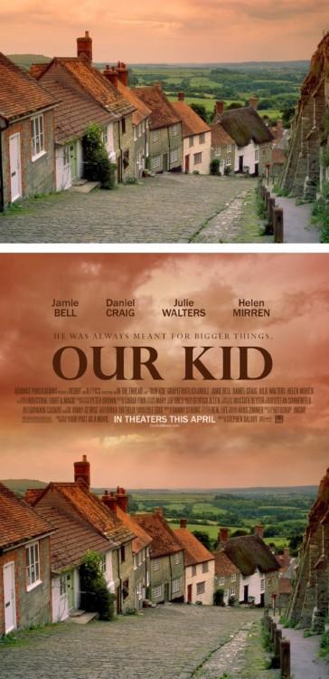 "poster falso de una película titulada ""Our Kid"""