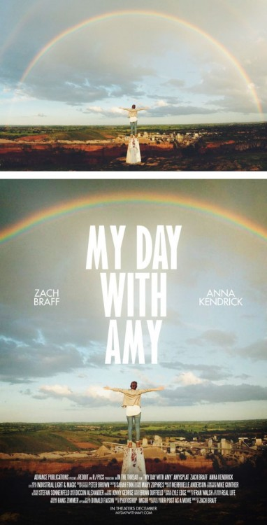 "poster falso de una película titulada ""My Day With Amy"""