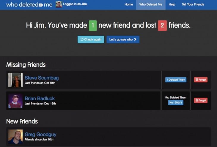 'Who Deleted Me' la nueva aplicación de Facebook que te dice quién te eliminó de sus amigos