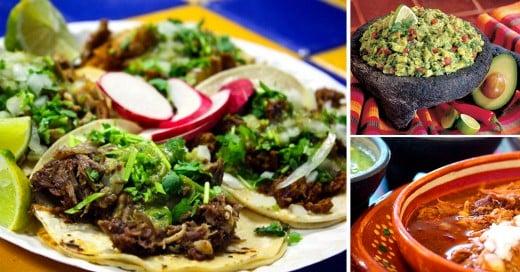 comida mexicana que solo un mexicano entenderá