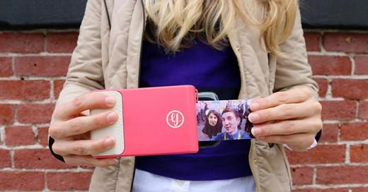 crean funda para celular que imprime fotos como la cámara polaroid