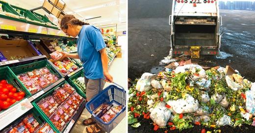 Prohíben a los supermercados de Francia tirar sus alimentos