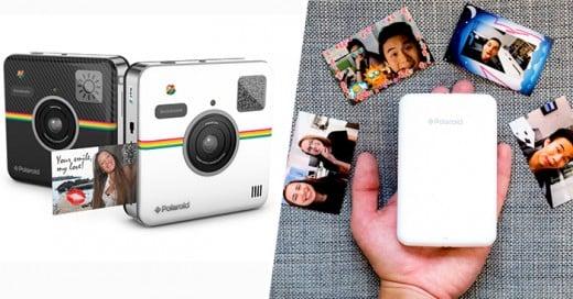 5 gadgets para que conviertas a tu smartophone en una Polaroid