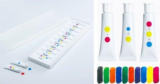 pinturas para aprender la combinacion de los colores pigmento