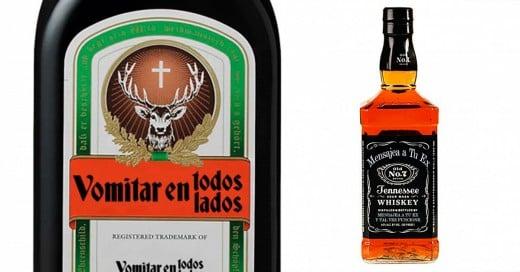 si las marcas de alcohol te dijeran la verdad
