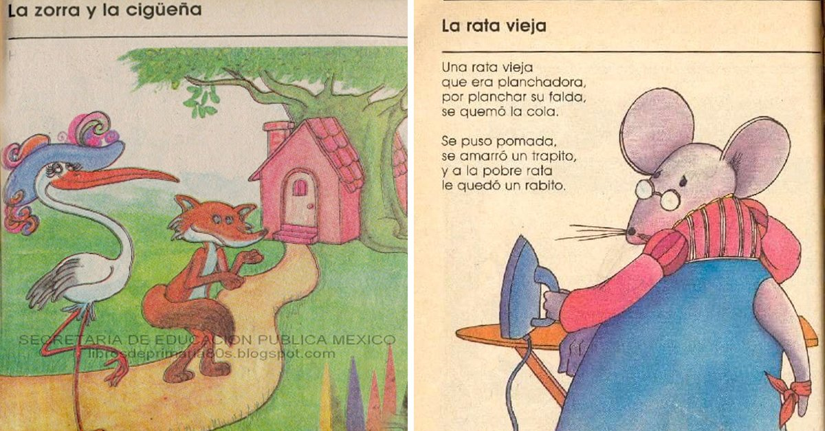 15 Cuentos de libros de primaria que todo mexicano recordará