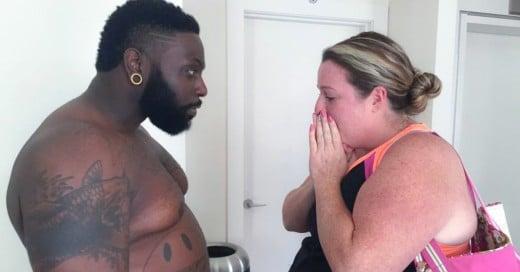 entrenador sube 30 kilos para bajar de peso junto con su clienta