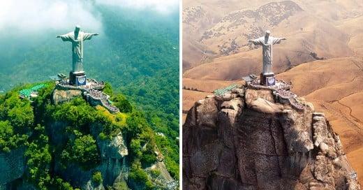 11 Lugares mas hermosos del mundo con sequía