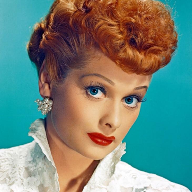 Lucille Ball famosa actriz