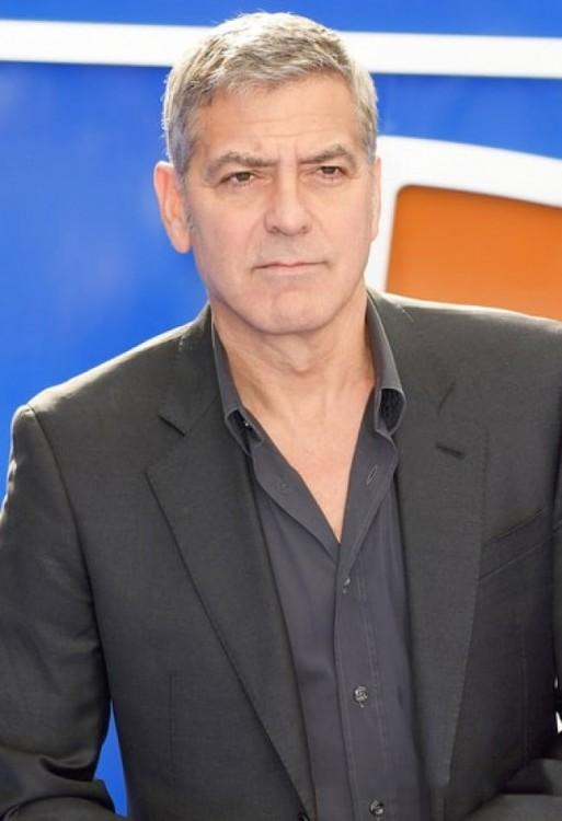 fotografía del famoso actor George Clooney