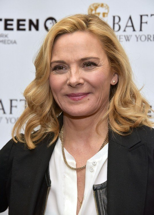 Kim Cattrall famosa por su participación en la comedia romántica Sex and the city