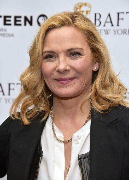 Kim Cattrall famosa por su participación en la comedia romántica Sex and the city