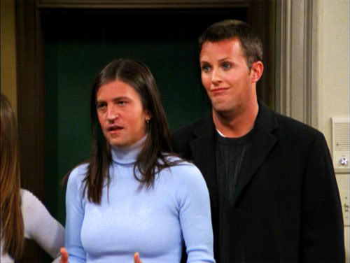 CHANDLER Y MONICA GELLER