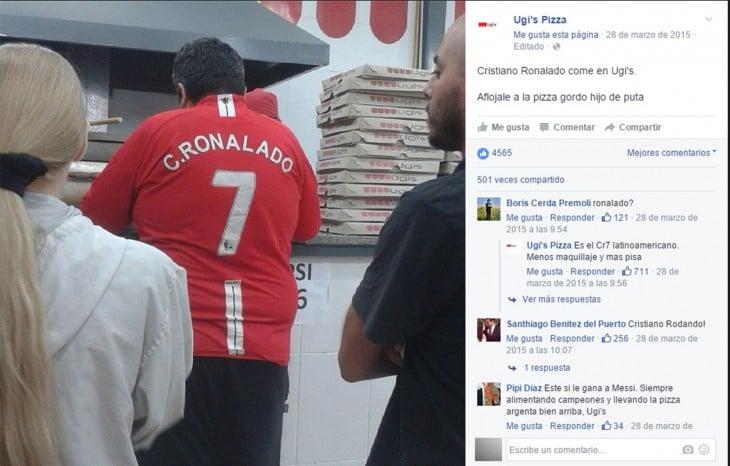 Ronaldo de la Ugi´s
