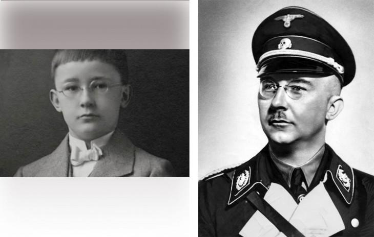 Heinrich Himmler. Fue quién cuidaba de los campos de concentración desde pequeño en Ausffist por ordenes de Adolfo Hitler y fue uno de su mano derecha