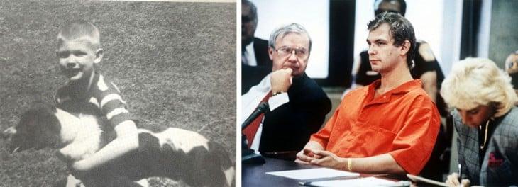 Jeffrey Dahmer mejor conocido como un psicopata que violaba y descuartizaba a sus víctimas.