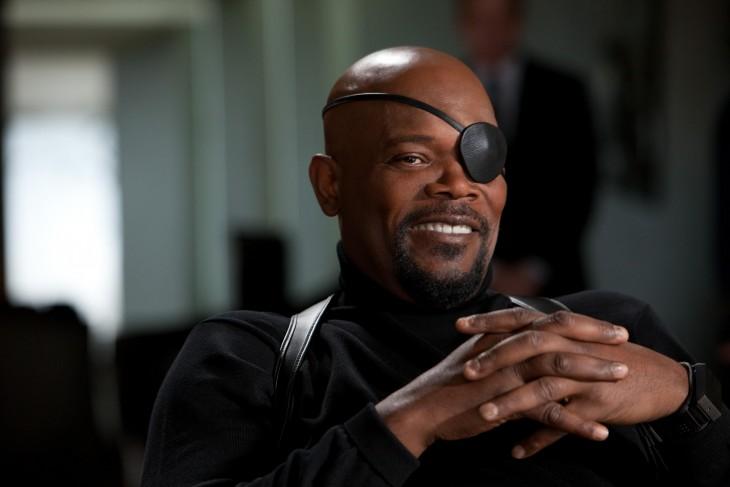 Samuel L. Jackson en su papel de Nick Fury